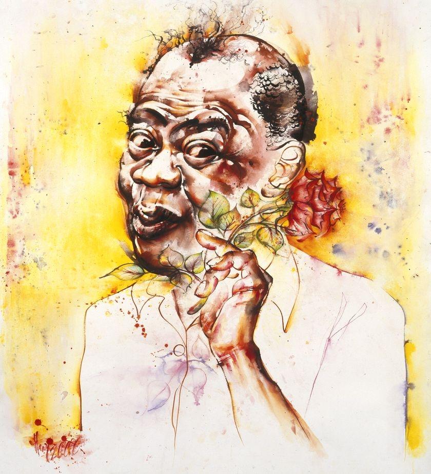 Louis Armstrong par Vildorius
